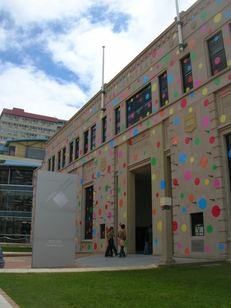 Die Kunst-Gallerie am Civic Center.