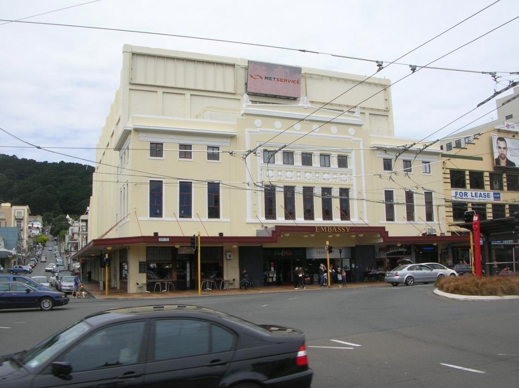 Das Embassy Theatre.